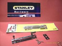 "STANLEY 4"" NECKED barrel Bolt. 1 pack with screws. chrome 83-2130"